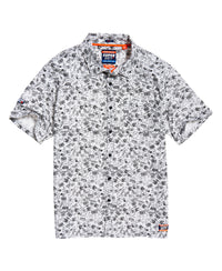 Seattle Skate Short Sleeve Shirt - White