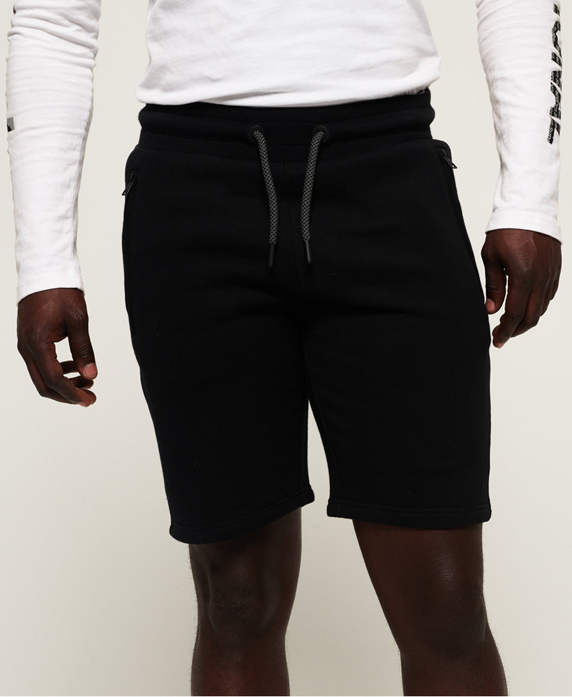 Universal Tape Short - Black - Superdry Malaysia
