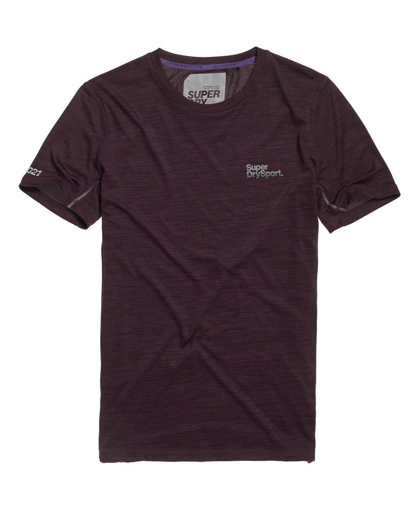 Active Training S/S Tee - Purple