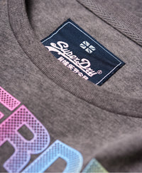 City Nights Boxy Tee - Dark Grey