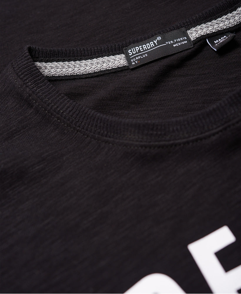 Surplus Goods Clssic Grphc Tee - Black