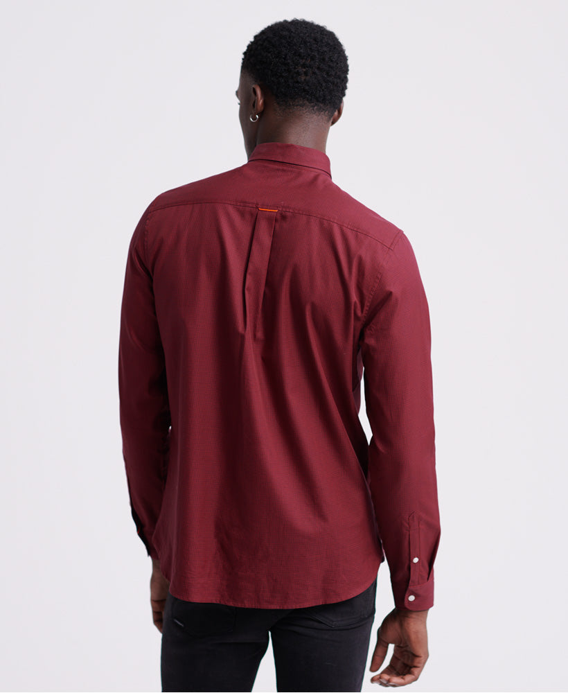 Classic London L/s Shirt - Red