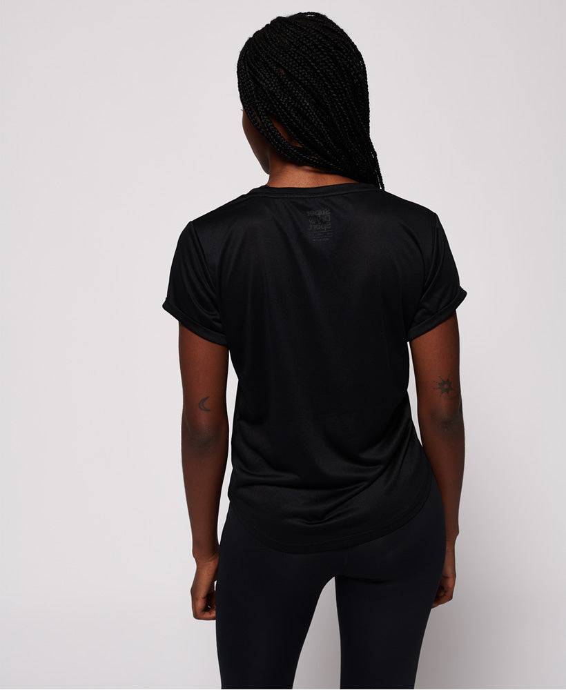 Active Loose Fit Tee - Black