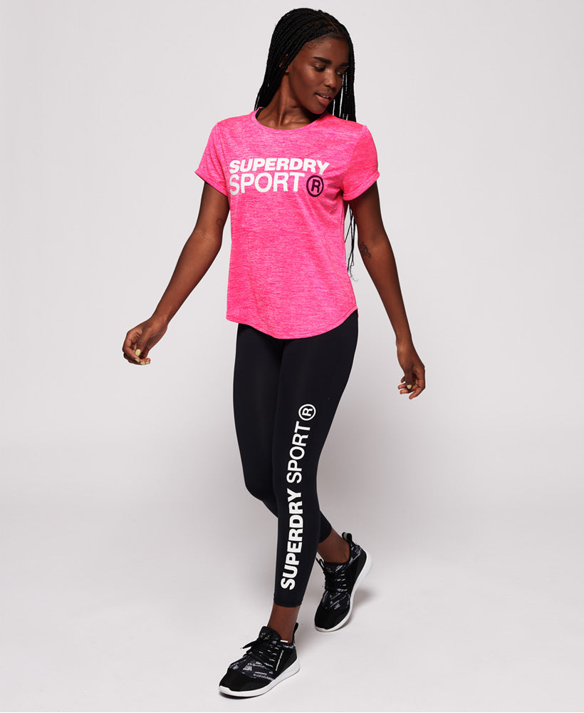 Active Loose Fit Tee - Pink