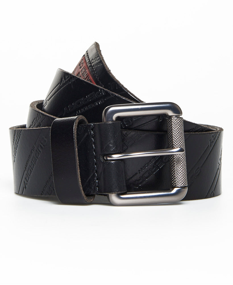 Aop Lineman Belt In A Tin - Black