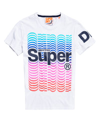 Super Blend Colours Tee - White