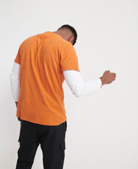 Vintage Label Premium Goods T-Shirt - Orange