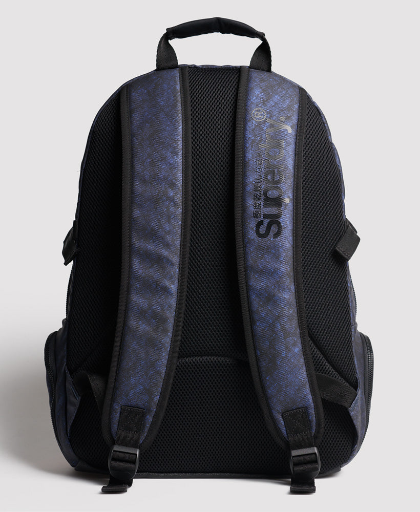 Misty Tarp Backpack - Dark Blue - Superdry Malaysia