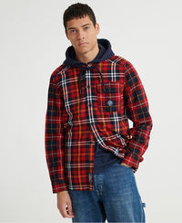 Denim Goods Hooded Shirt - Superdry Malaysia
