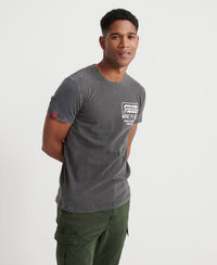 Demolition Crew T-Shirt - Dark Grey - Superdry Malaysia