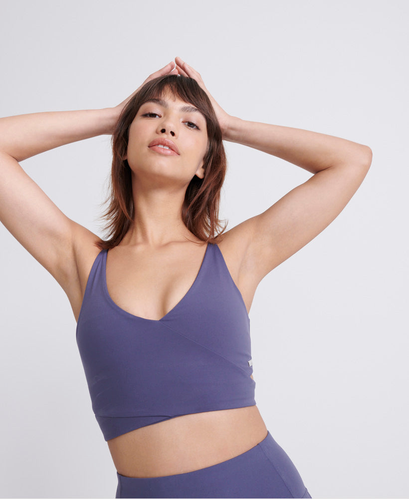 Studio Cross Sports Bra - Purple