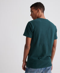 Core Logo Stripe T-Shirt - Green