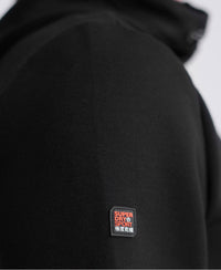 Gym Tech Zip Hoodie - Black - Superdry Malaysia