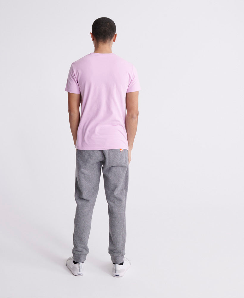 Embossed Pastel Line T-Shirt - Purple