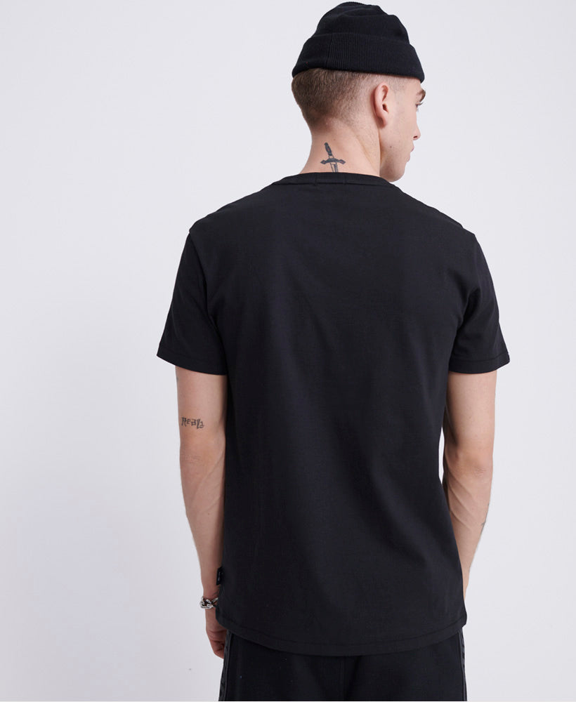 Surplus Goods Boxy Graphic T-shirt - Black
