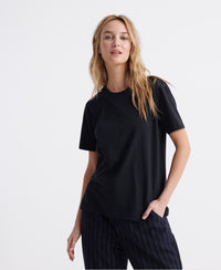 Organic Cotton Standard Label T-Shirt - Black