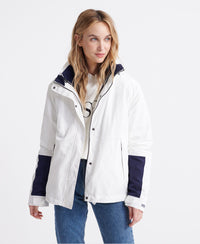 Long Sleeved Essentials 4 In 1 Jacket - White