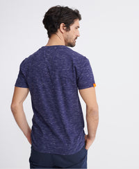 Orange Label Vintage Embroidered T-Shirt - Dark Blue - Superdry Malaysia