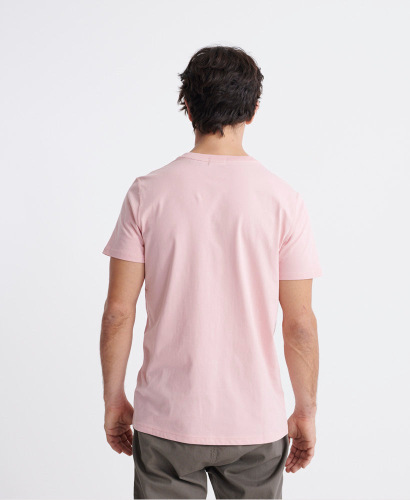 Organic Cotton Standard Label T-Shirt - Pink