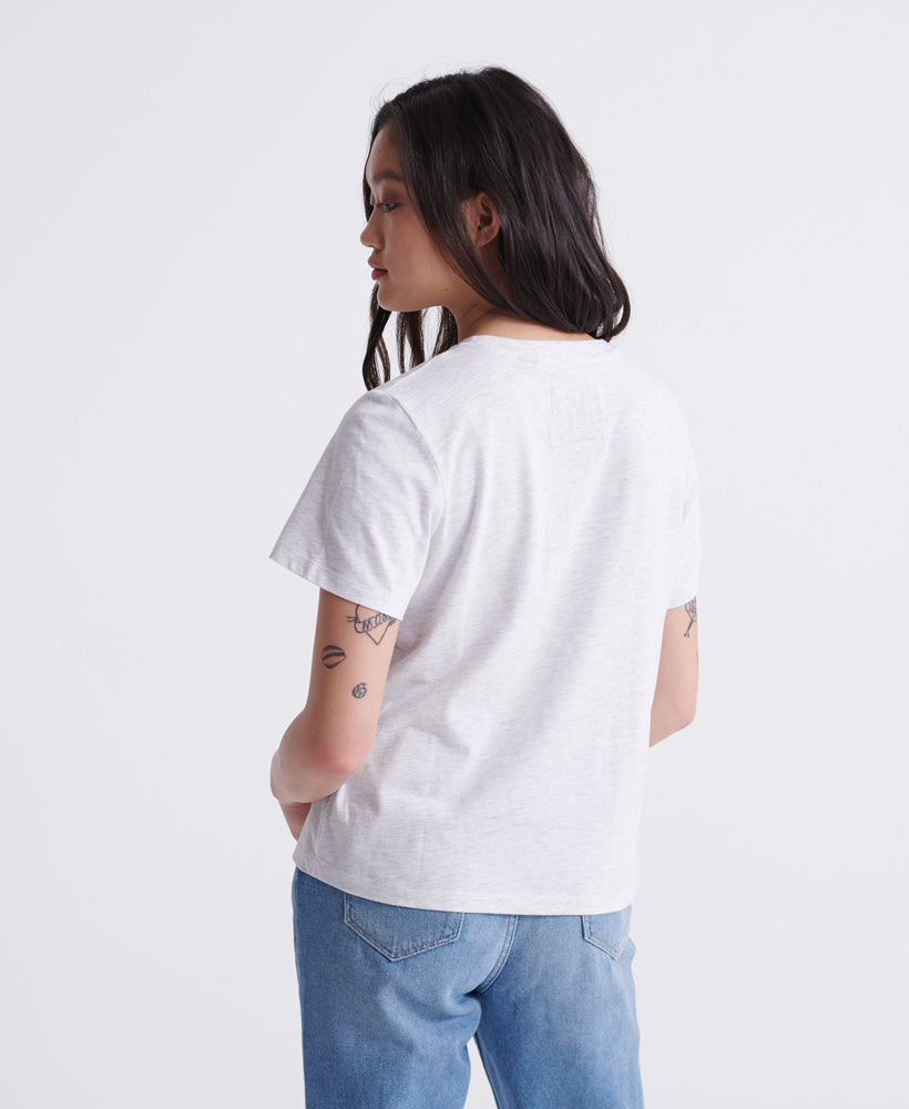 Track & Field T-shirt - Light Grey