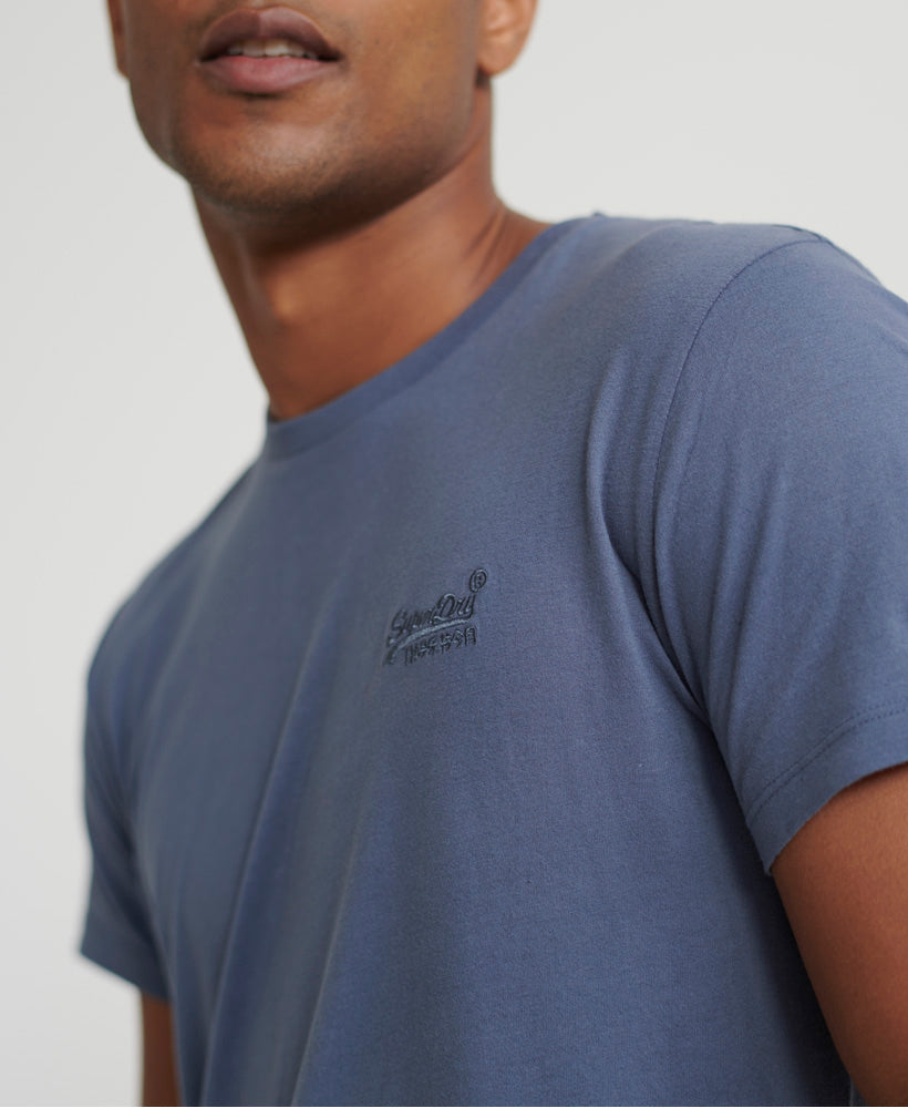 Orange Label Lite T-Shirt - Blue - Superdry Malaysia