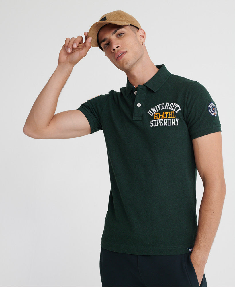 Classic Superstate Short Sleeve Polo Shirt - Green