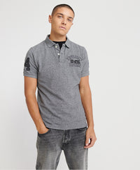 Classic Superstate Short Sleeve Polo Shirt - Grey