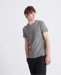 Shirt Shop Embossed T-Shirt - Grey