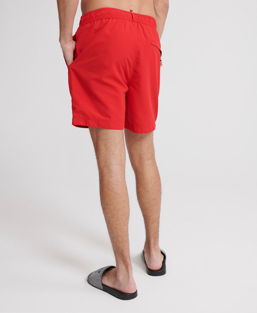 Waterpolo Swim Shorts - Red