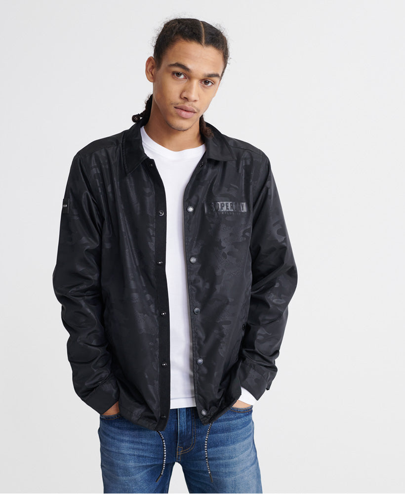 Surplus Goods Coach Jacket - Black