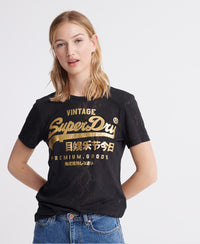 Premium Goods Snake Burnout T-Shirt - Black