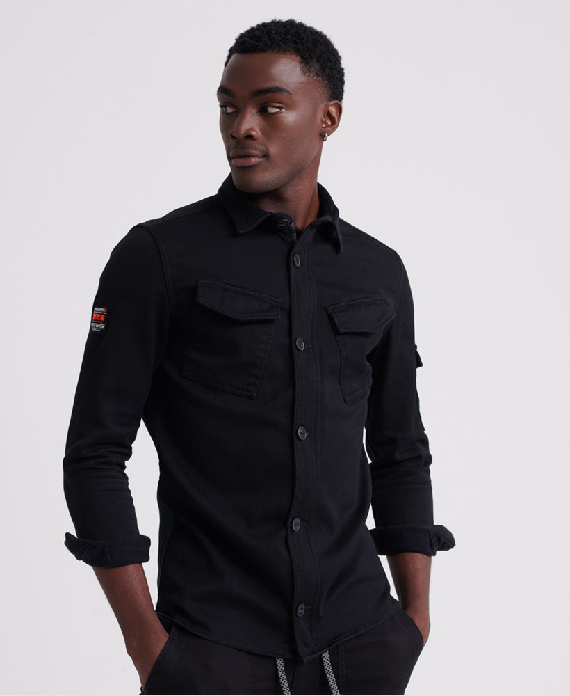 Patch Patrol Long Sleeved Shirt - Black