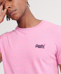 Orange Label Vintage Embroidered T-Shirt - X Fuchsia