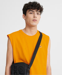 Organic Cotton Collective Oversized Vest Top - Orange