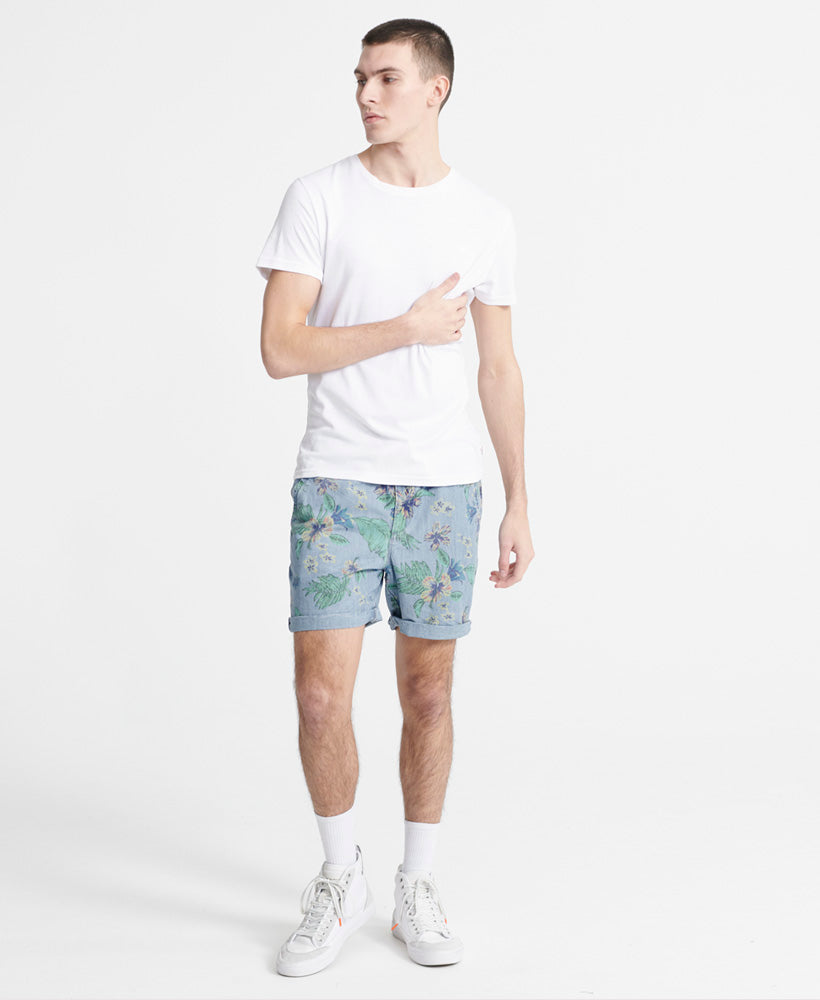 Sunscorched Chino Shorts - Light Blue