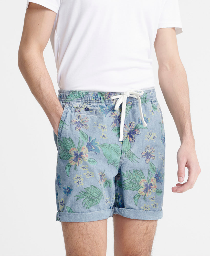 Sunscorched Chino Shorts - Light Blue - Superdry Malaysia