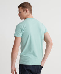 Organic Cotton Vintage Logo T-Shirt - Green