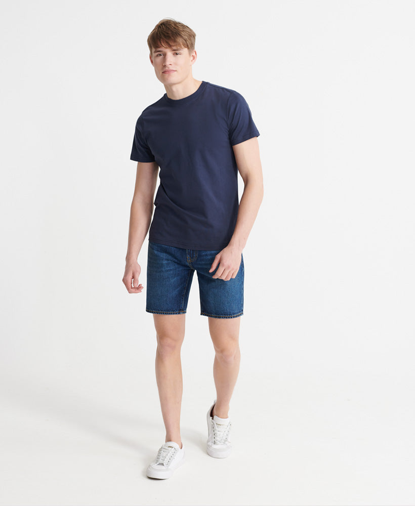 05 Conor Taper Shorts - Blue