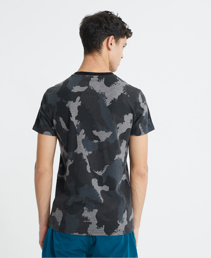 Dry Camo Overdyed T-Shirt - Black