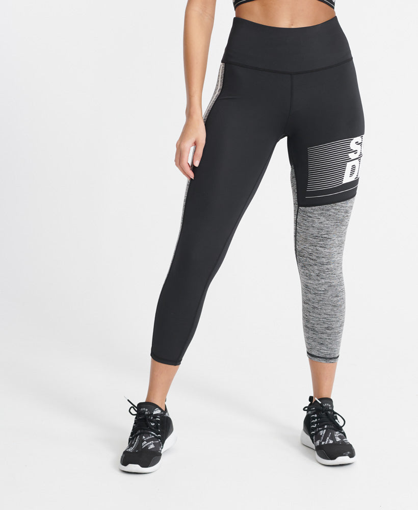 Training Graphic 7/8 Leggings - Grey