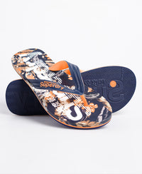Scuba All Over Print Flip Flop - Multi