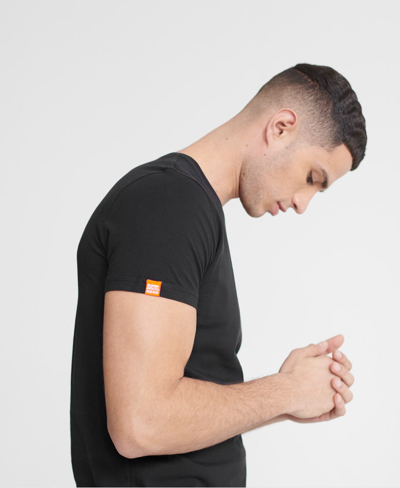 Orange Label Neon Lite T-Shirt - Black - Superdry Malaysia