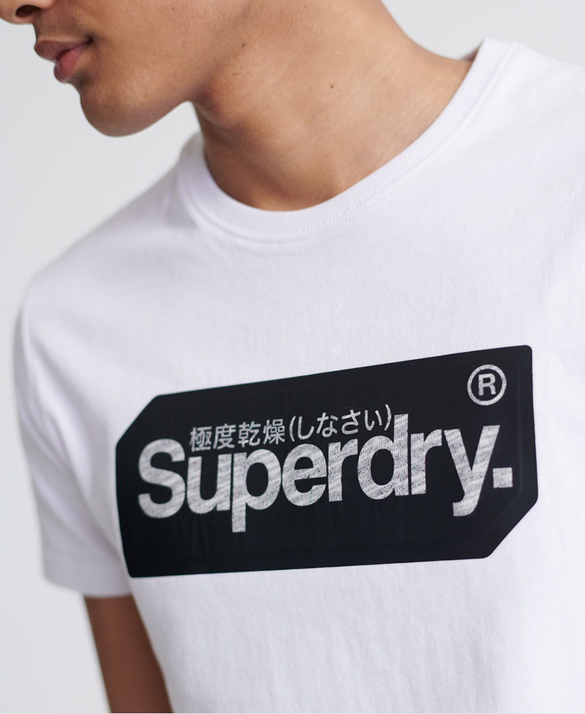 Core Logo Tag T-Shirt - White