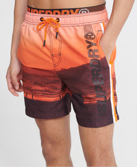 State Volley Swim Shorts - Orange - Superdry Malaysia