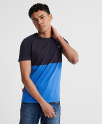 Collective Colour Block T-Shirt - Navy