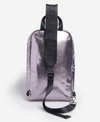 Sling Backpack - Silver