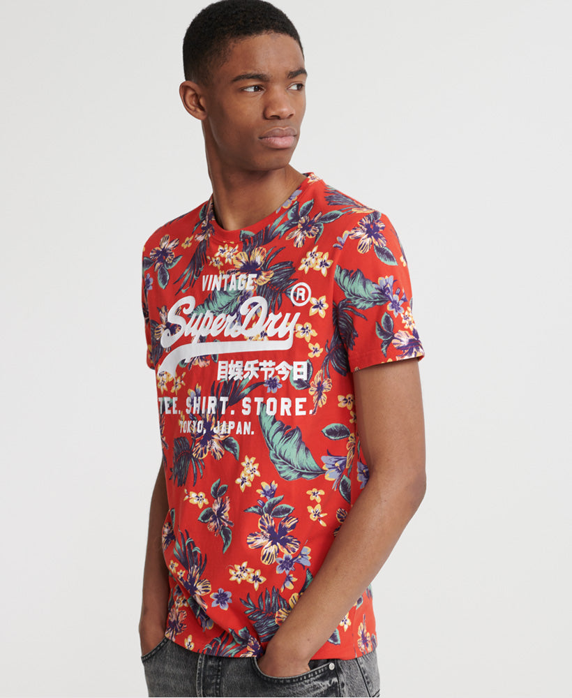 Super 5 T-Shirt - Red - Superdry Malaysia