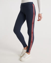 Orla Leggings - Navy