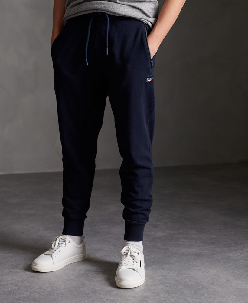 Collective Loopback Joggers - Navy