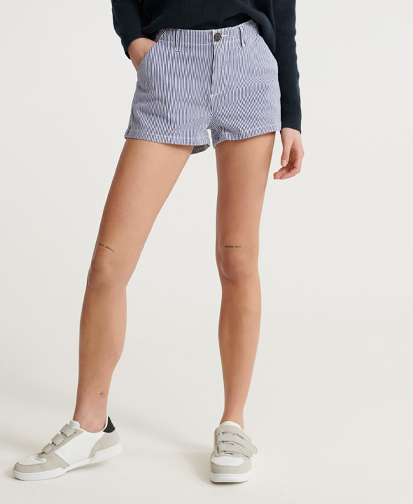 Chino Hot Shorts - Navy